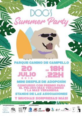 DOGS SUMMER PARTY